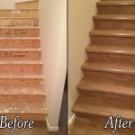 Calgary Hardwood: before after stairs 150x150 Gallery